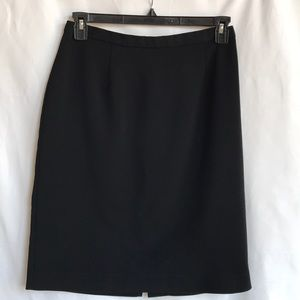 Kathie Lee perfect black pencil skirt for work, 10